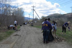 MCLA clean up day 5-2-2015