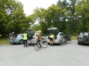 Tour de Pownal Bike Ride @ Mack Molding parking area