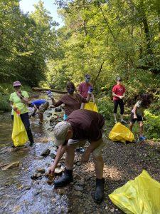 Green River Clean up @ Hart Garage