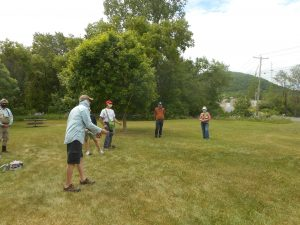 Fly Fishing demo for beginners